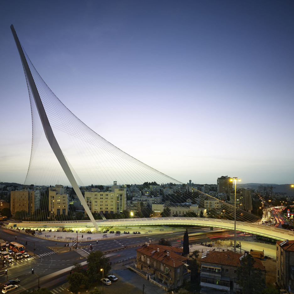 Dezeen's A-Zdvent calendar: Chords Bridge by Santiago Calatrava