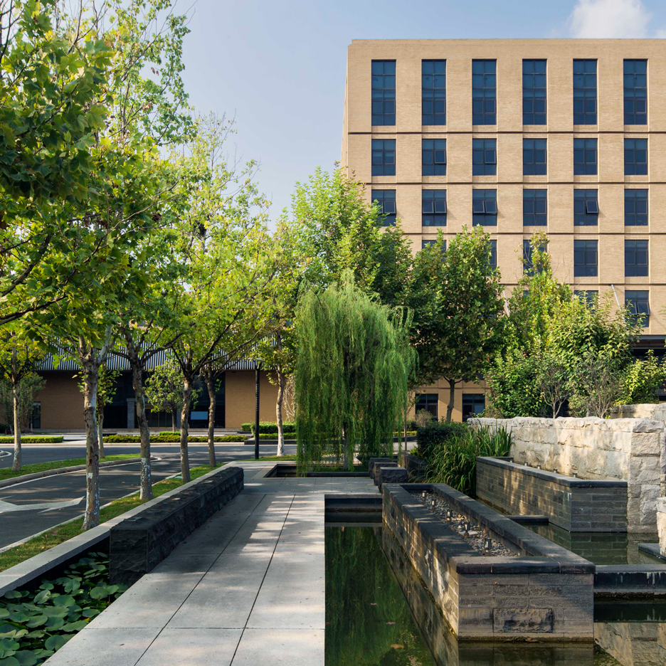 Coffey Architects completes brick-clad headquarters for a Chinese steelworks