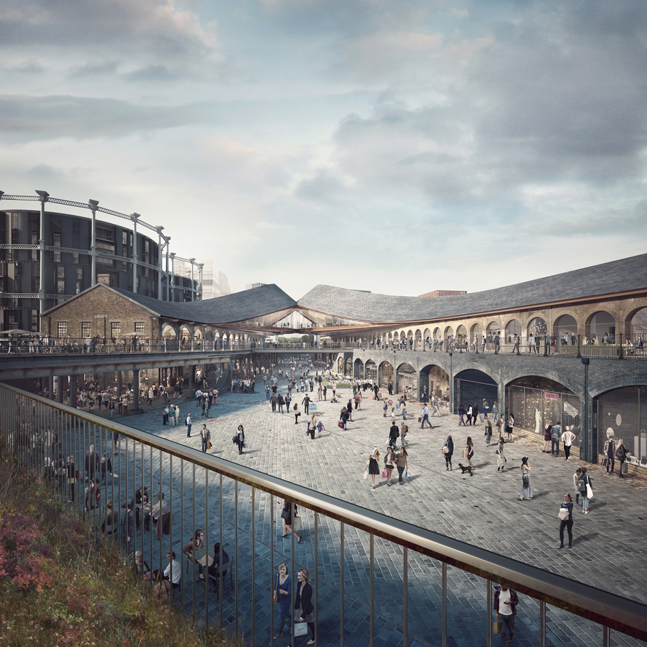 Heatherwick gets go ahead for canal-side shopping centre in London's King's Cross