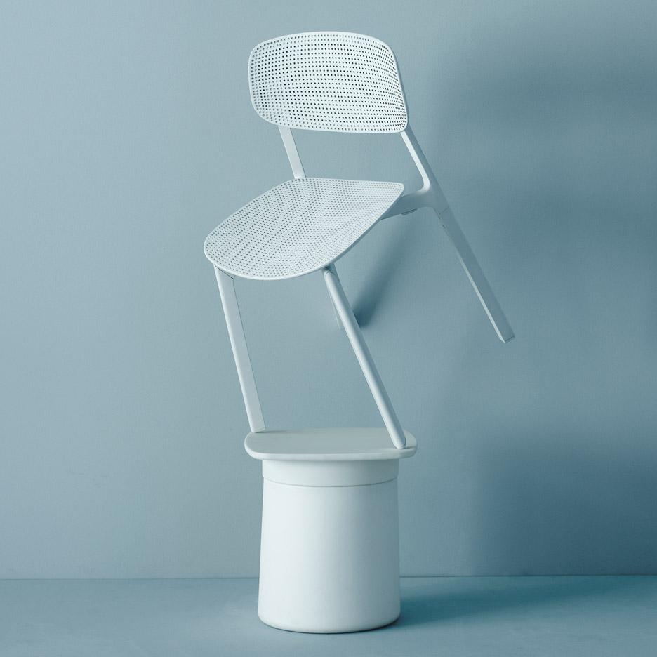 Colander chair by Patrick Norguet