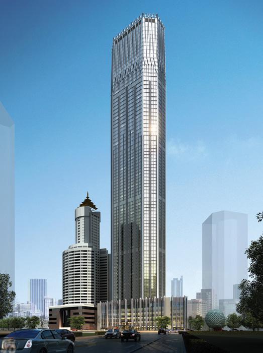 Dalian International Trade Center, China, by Dalian Architectural Design &amp Research Institute