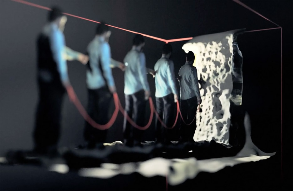 Michael Fragstein's music video for Dan Freeman's track Dagner