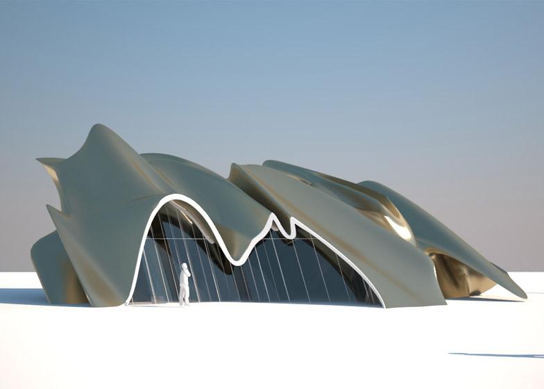 Prefabricated housing by Daniel Libeskind