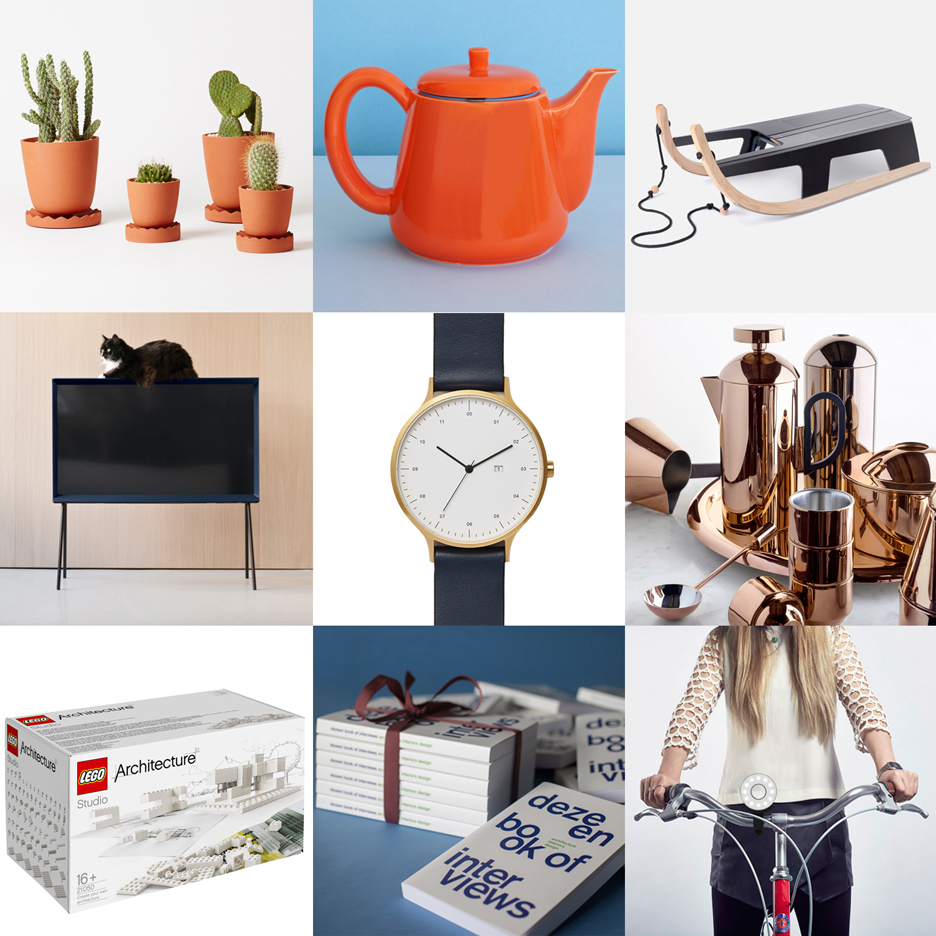 Dezeen's Christmas gift guide for architects and designers