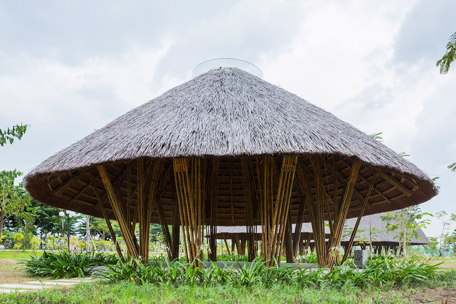 Diamond Island Community Center by Vo Trong Nghia Architects