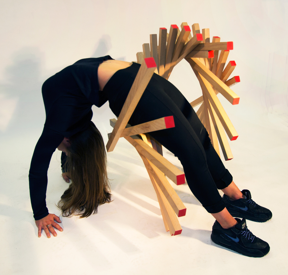 Disposture Chair by Jessica Ross