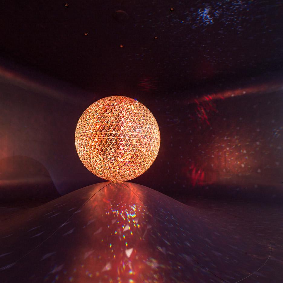 El Sol by Fernando Romero for Swarovski