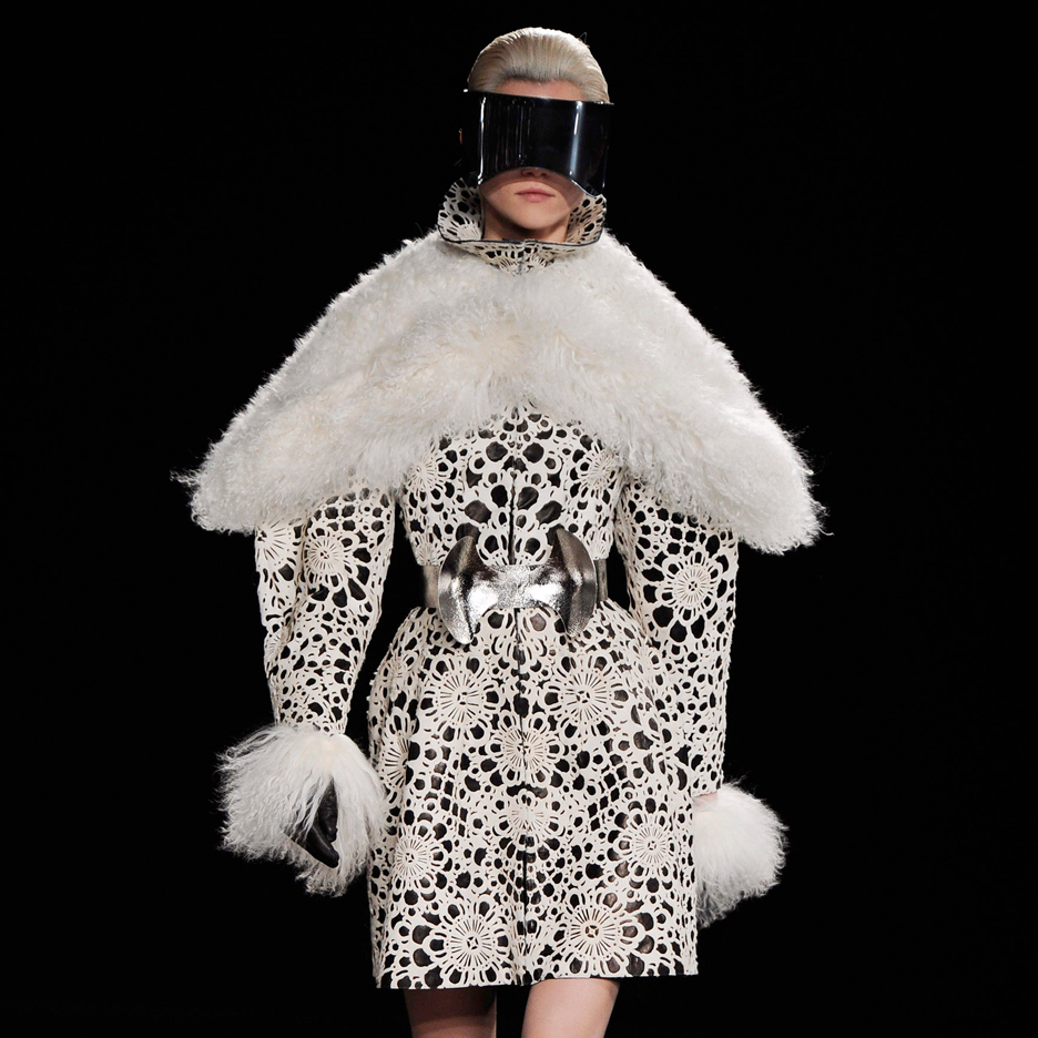 Fall 2012 Ensemble by Sarah Burton for Alexander McQueen-