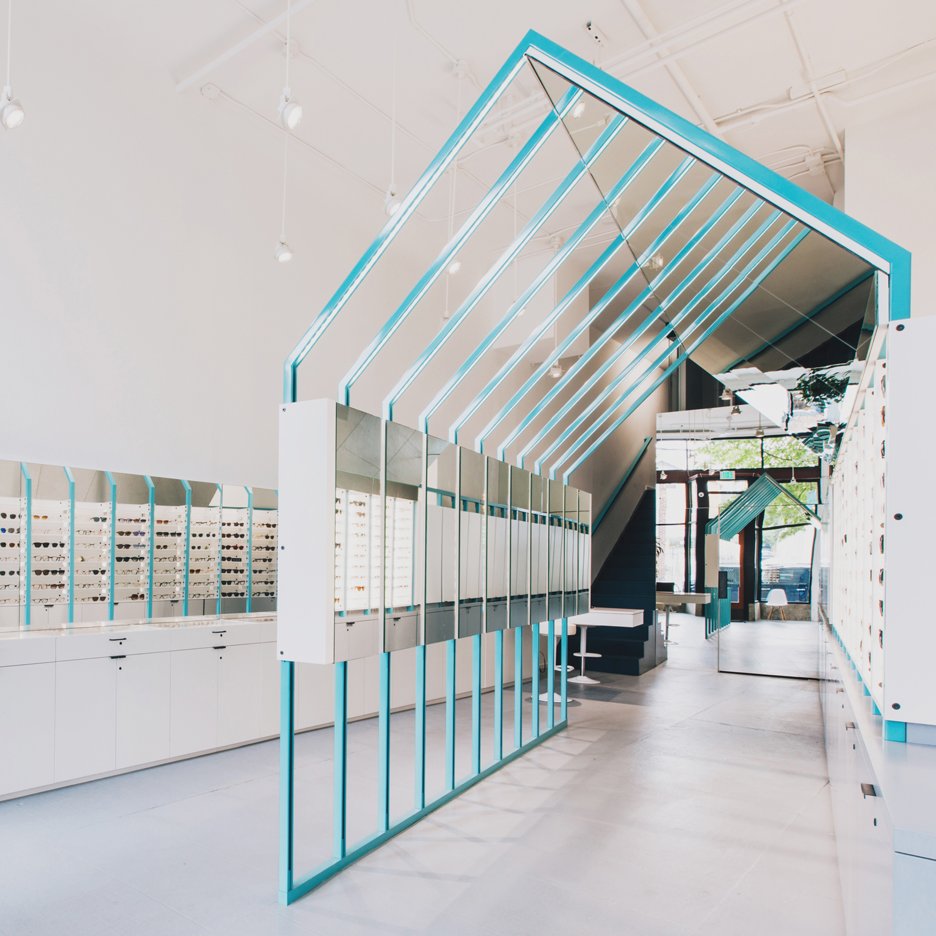 "Seattle eyewear store by Best Practice Architecture is designed to ""toy with perception"""