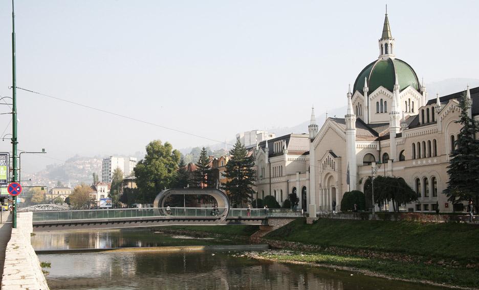 Festina Lente bridge by Adnan Alagić, Bojan Kanlić and Amila Hrustić