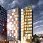 Lever Architecture proposes timber-framed tower for Portland