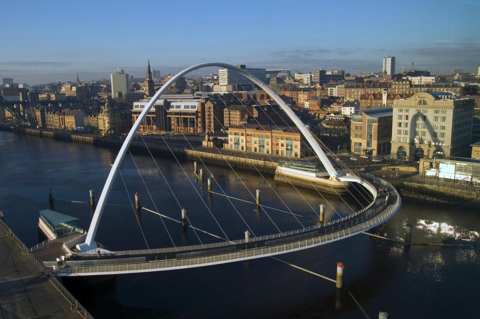 Gateshead Bridge by Wilkinson Eyre