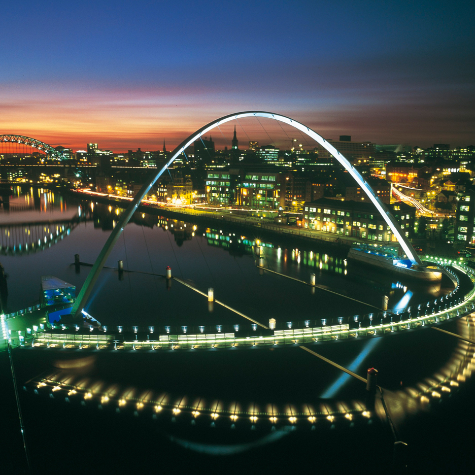 Dezeen's A-Zdvent calendar: Gateshead Millennium Bridge by Wilkinson Eyre Architects