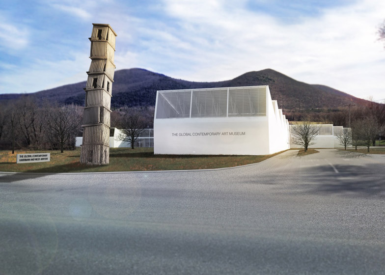 Gluckman Tang's Global Museum of Contemporary Art in North Adams, Massachusetts