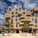 Peter Barber Architects completes supermarket and housing complex in London's Colindale