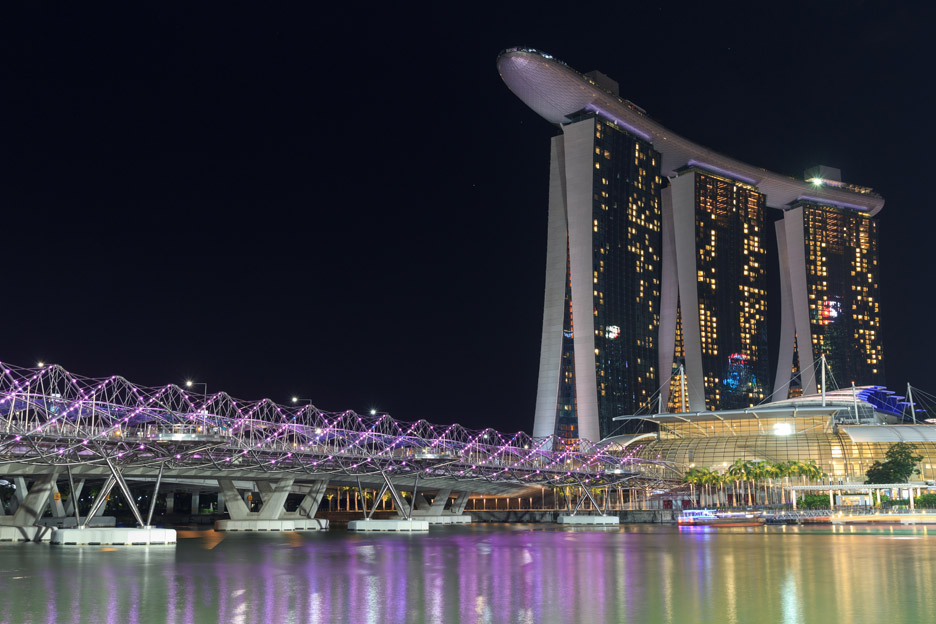 Helix Bridge in Singapore by COX Group
