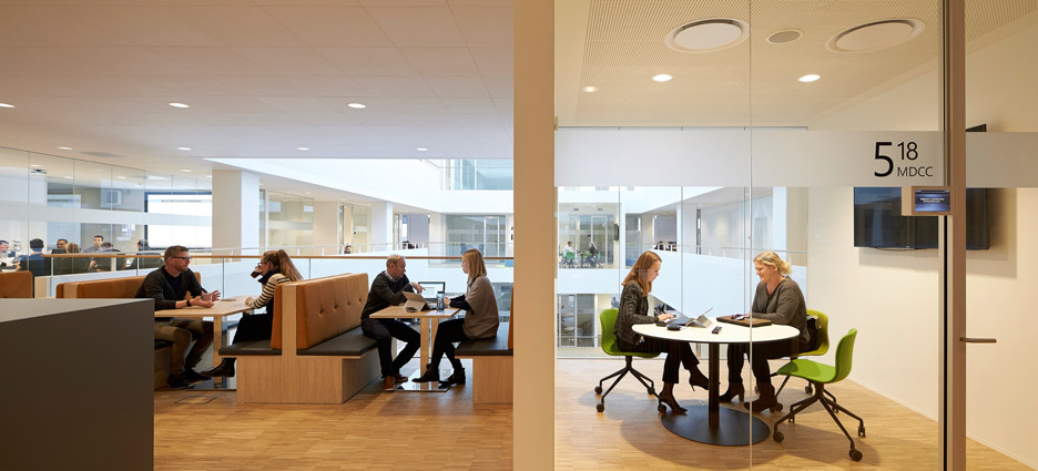 Microsoft building by Henning Larsen Architects