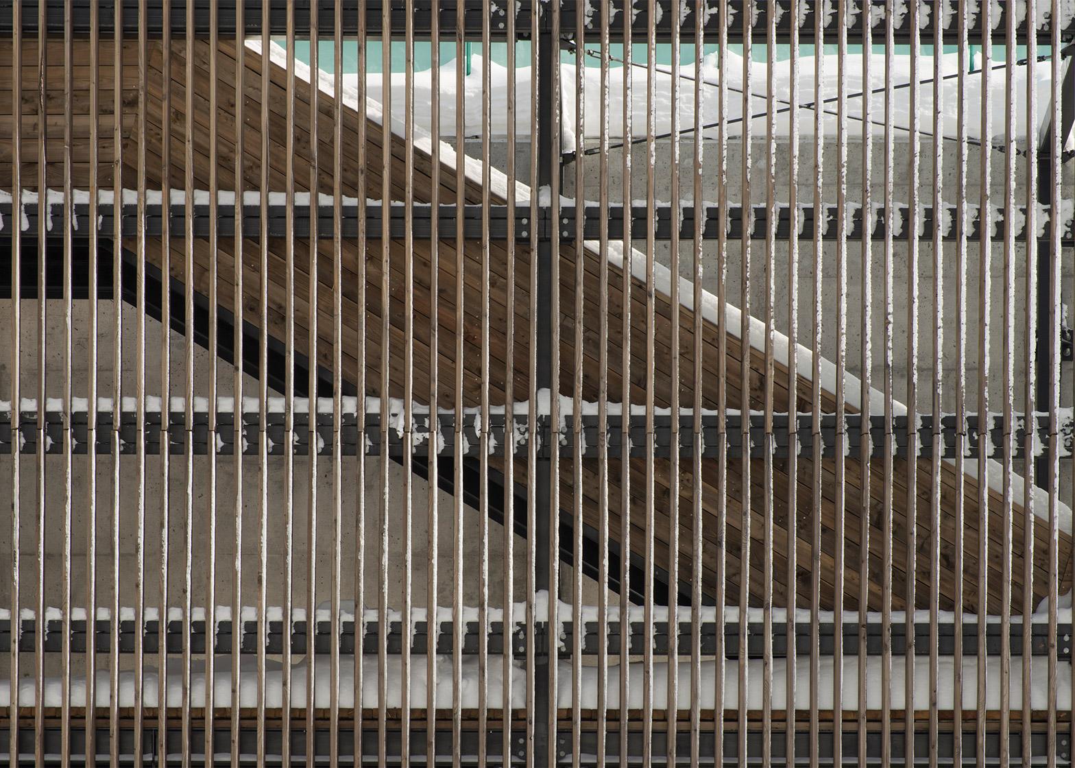 Val-Jalbert Belvedere by Atelier Pierre Thibault