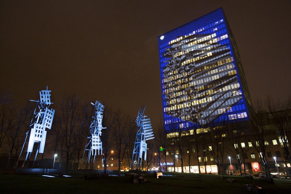 Impulse installation in Montreal