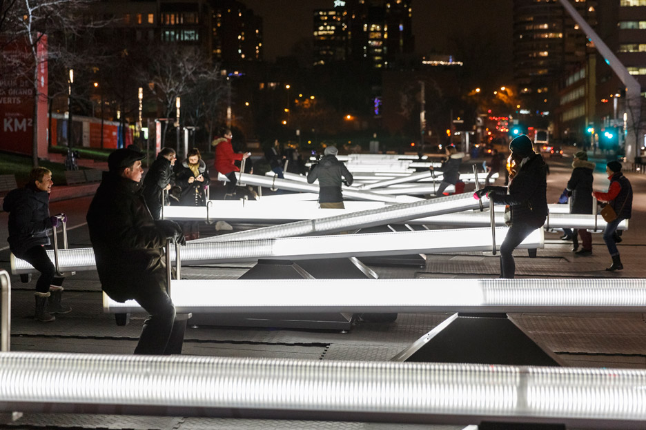Impulse installation in Montreal
