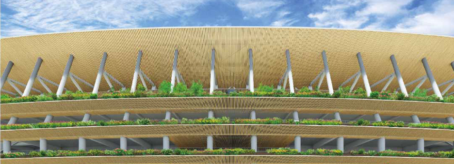 Kengo Kuma beats Toyo Ito to win Japan National Stadium competition