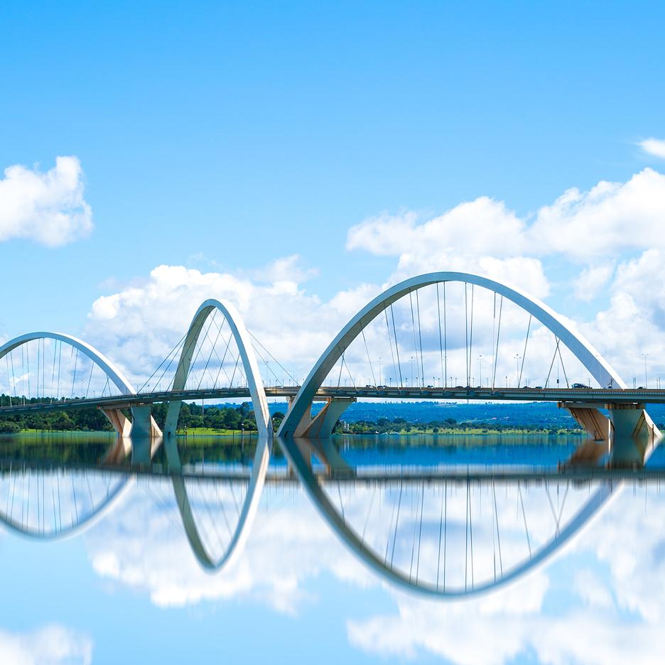 Dezeen's A-Zdvent calendar: Juscelino Kubitschek Bridge by Alexandre Chan