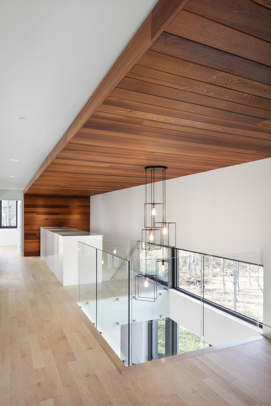 KL House by Bourgeois Lechasseur Architects