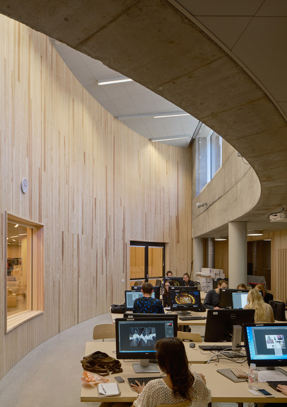KTH School of Architecture by Tham and Videgard