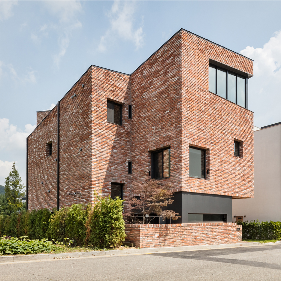 House design and architecture in south korea dezeen - Brick houses three beautiful economical projects ...