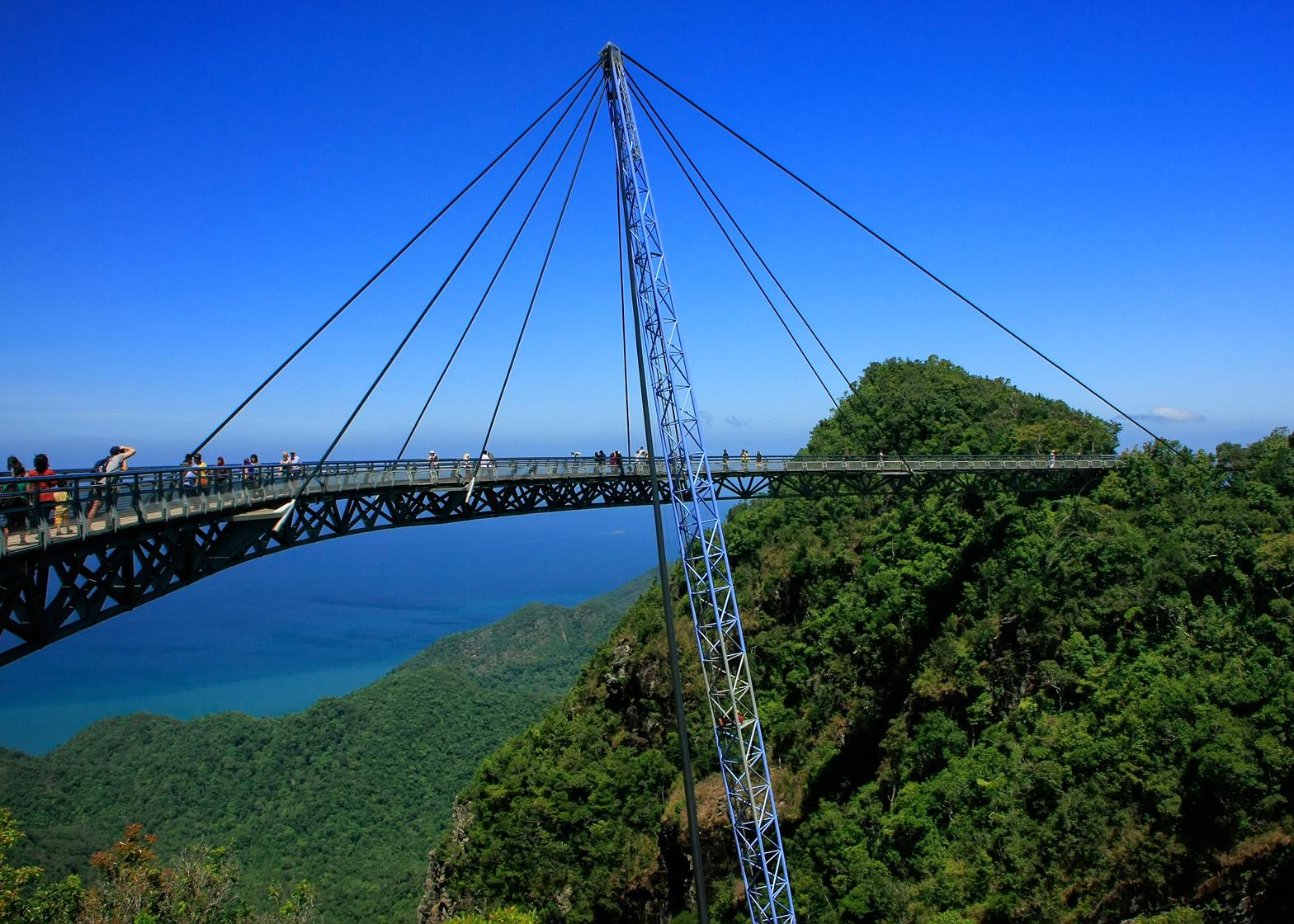 A-Zdvent calendar: Langkawi Sky Bridge by Peter Wyss
