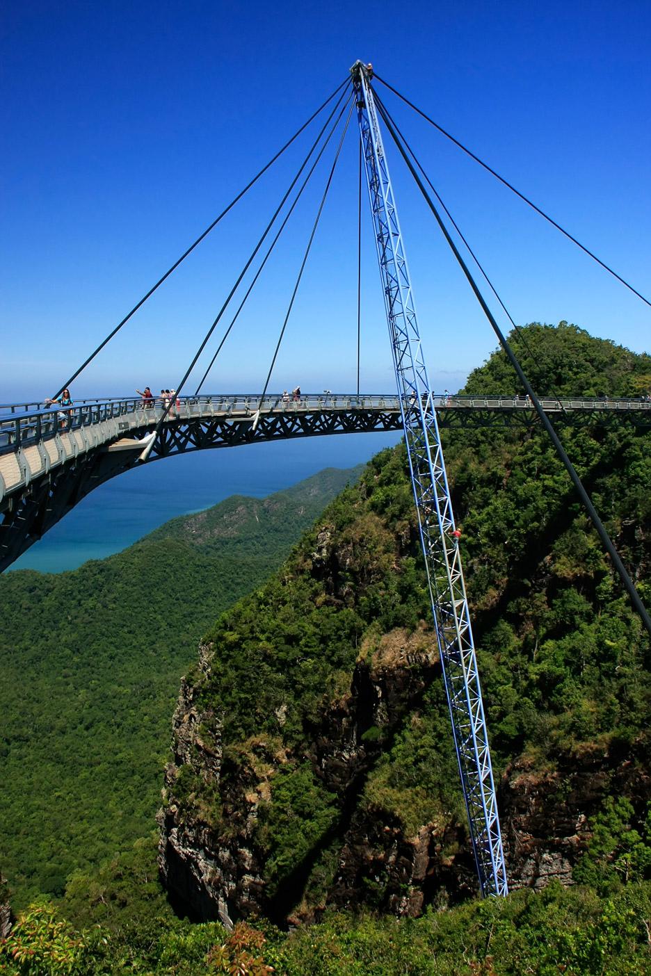 Langkawi Sky Bridge by Peter Wyss