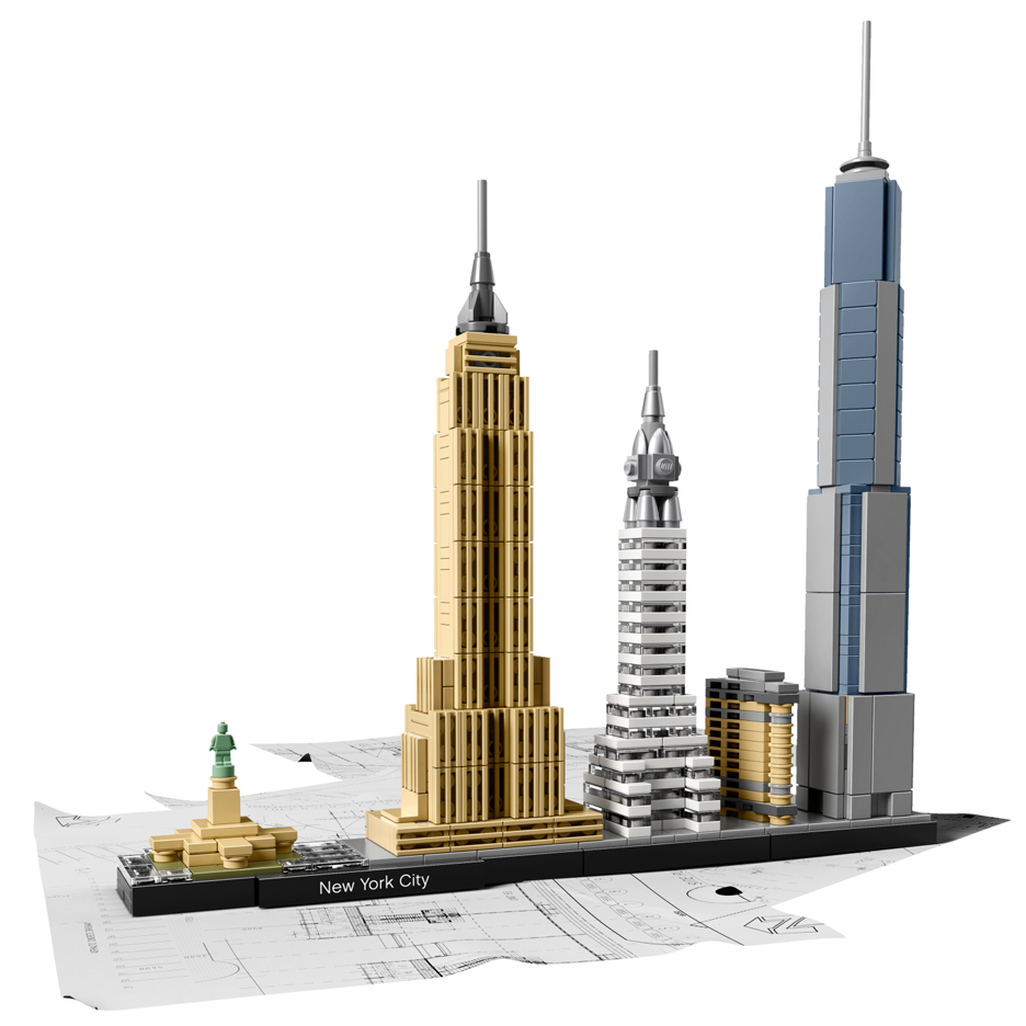 Skyline building kits by Lego