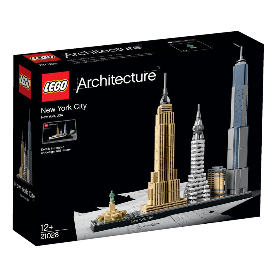 Skyline building kits by Lego