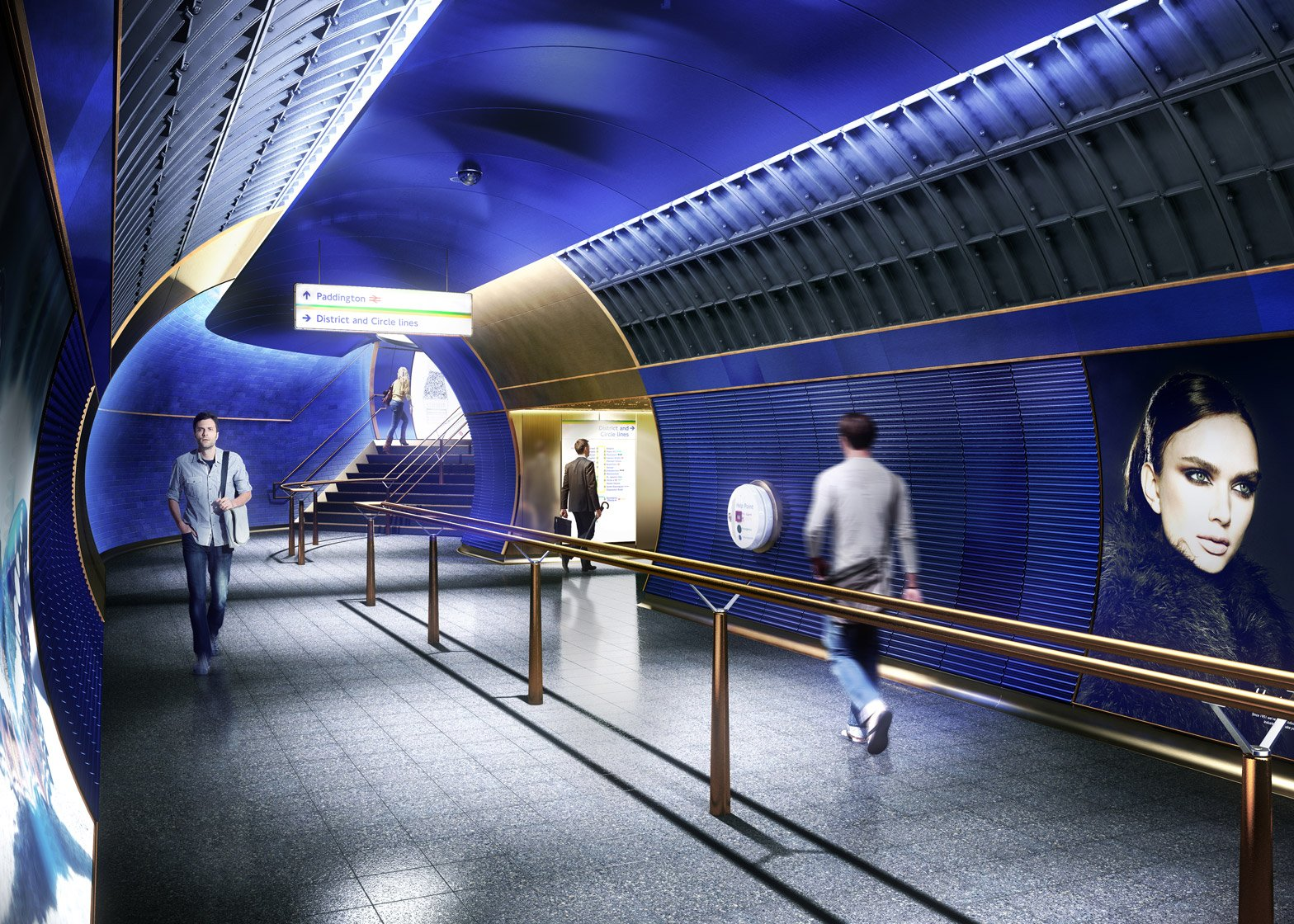 London Underground by Studio Egret West