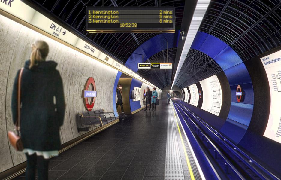 Studio Egret West reveals designs for future London Underground stations
