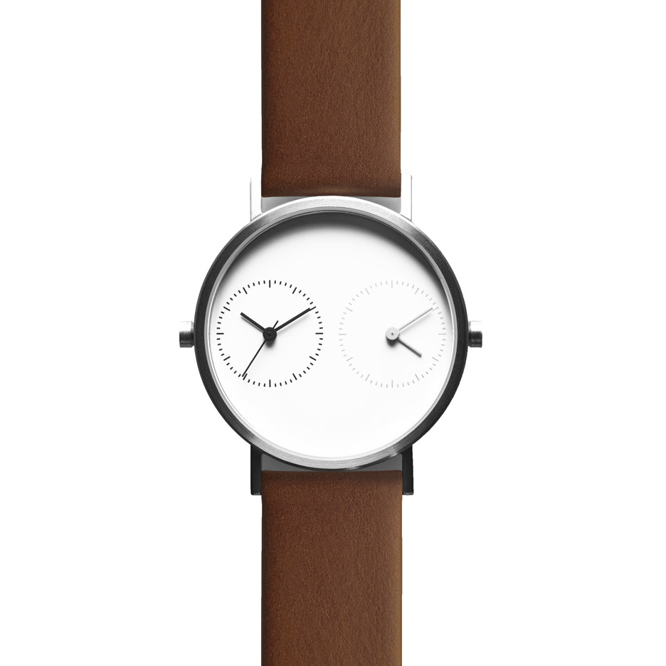 Latest version of Kitmen Keung's Long Distance watch launches at Dezeen Watch Store