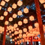 Rockwell Group creates canopy of 650 pulsating lanterns inside New York's Winter Garden