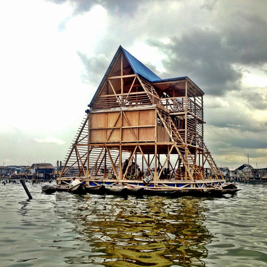 NLÉ's Makoko Floating School in Lagos Lagoon