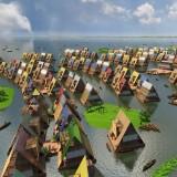 NLÉ's Makoko Floating School in Lagos Lagoon