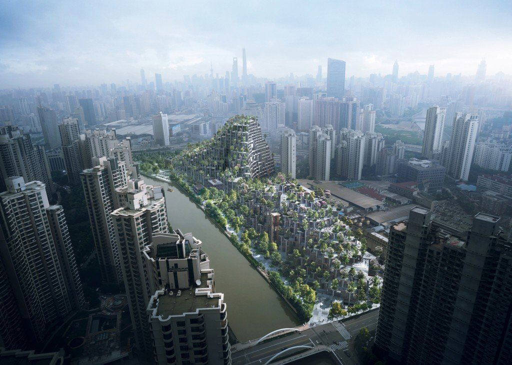 image of the thousand tree property development in shanghai