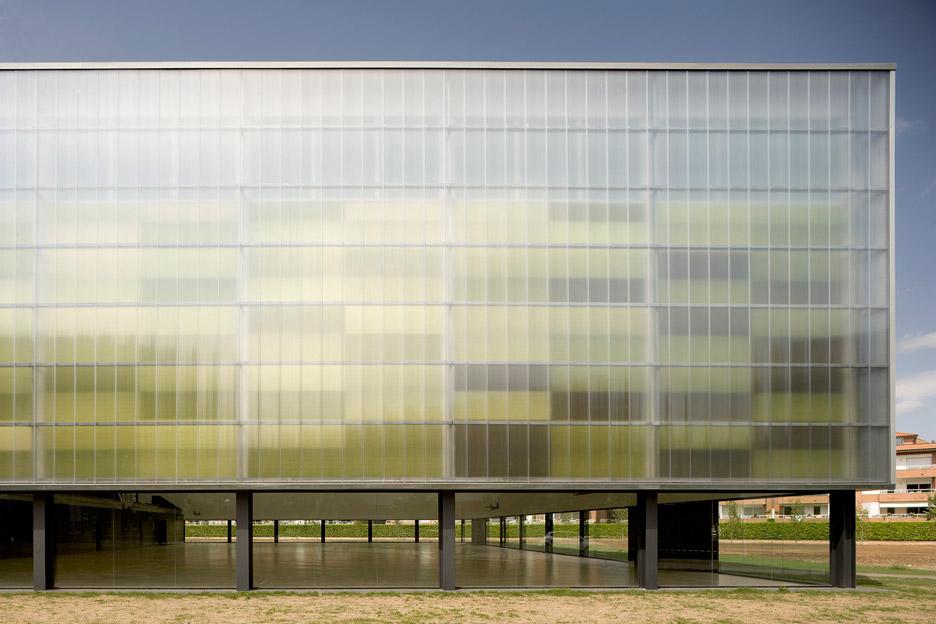 Municipal Sports Hall, Girona by Baena Casamor Architects