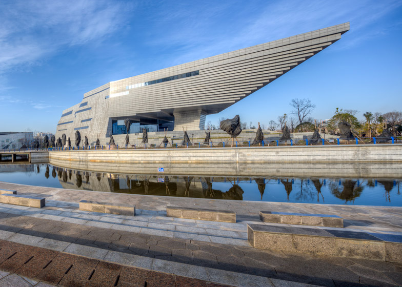 Museum for Qujing Culture Center by Hordor Design Group and Atelier Alter