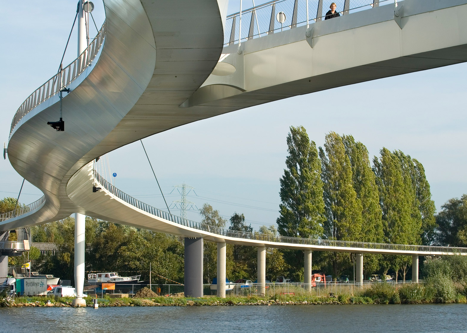 Nescio Bridge by Wilkinson Eyre