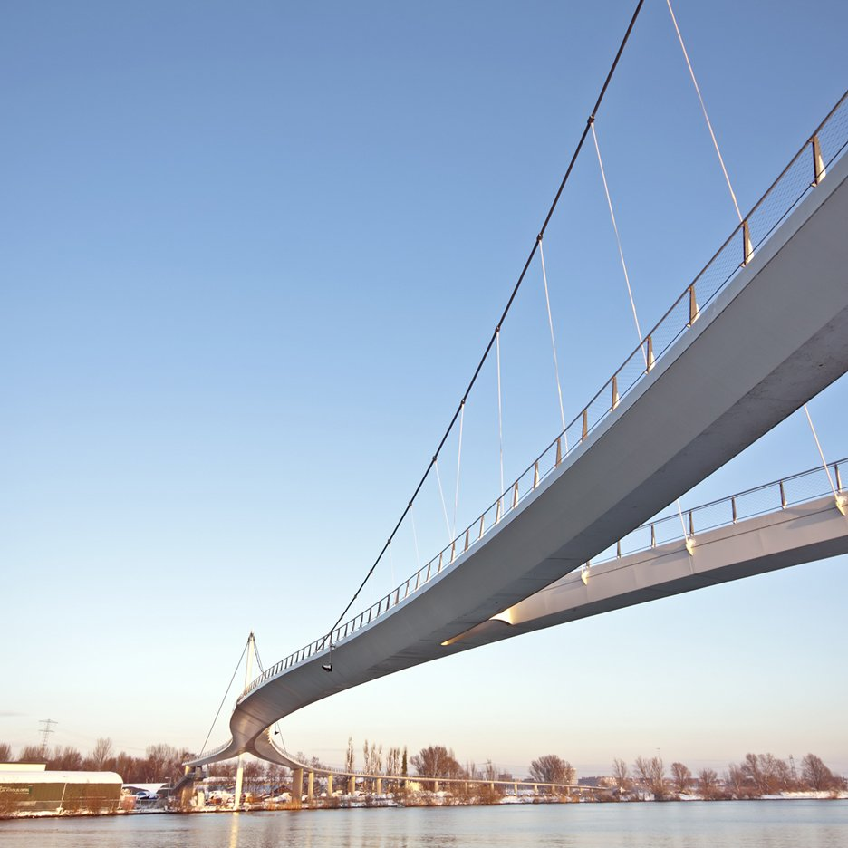 Dezeen's A-Zdvent calendar: Nescio Bridge by Wilkinson Eyre Architects