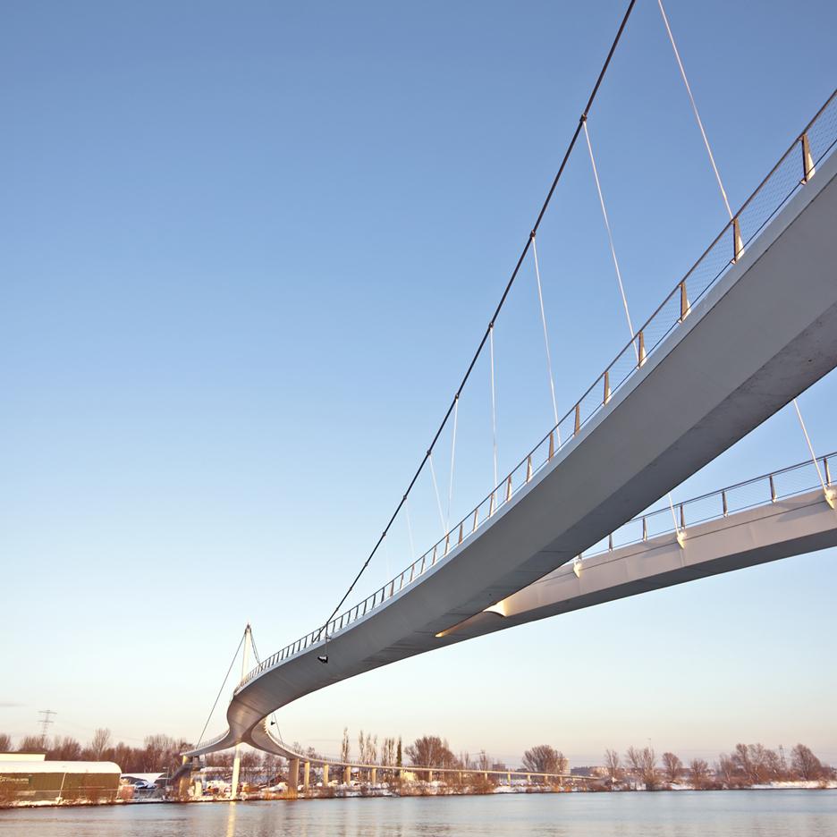 Dezeen's A-Zdvent calendar: Nescio Bridge by Wilkinson Eyre Architects