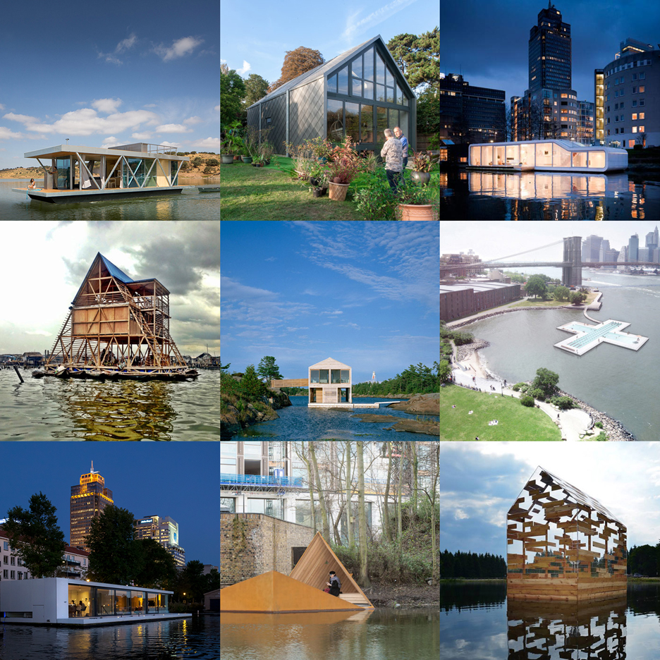 New Dezeen Pinterest board full of floating architecture