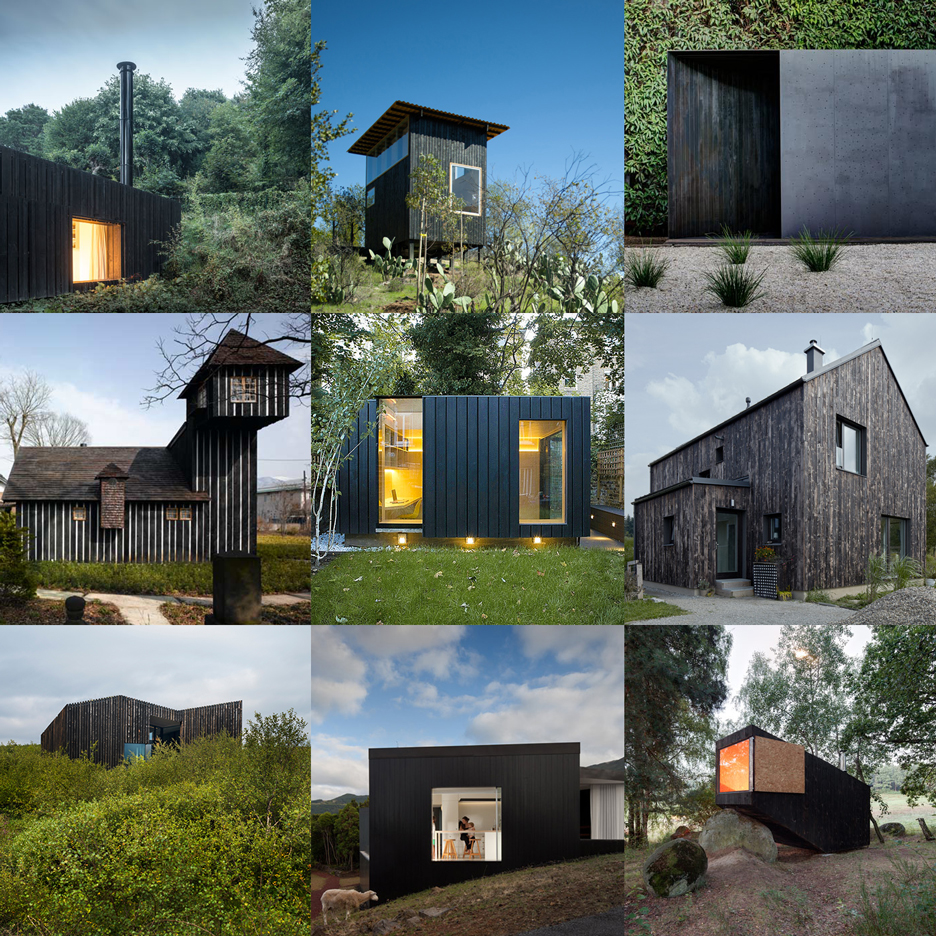 See charred cedar facades on Dezeen's new Pinterest board