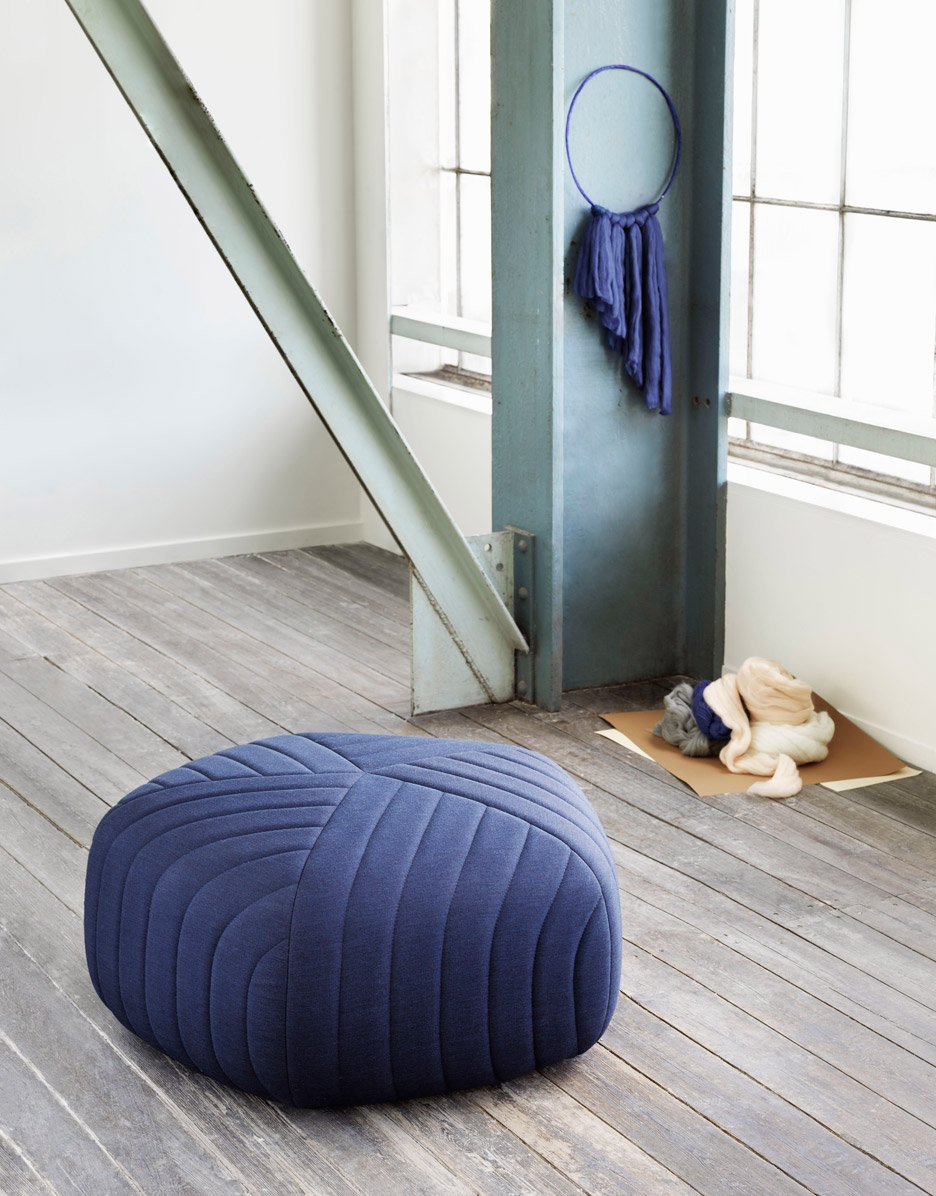 New Pouf by Anderssen and Voll for Muuto