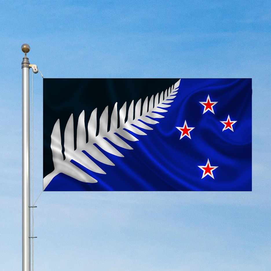 New Zealand selects Silver Fern as design for national flag vote