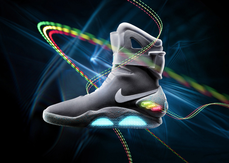 Nike revealed plans to release real-life versions of its self-lacing trainers from Back to the Future II